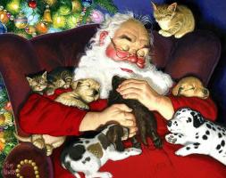 Том  Ньюсом. Санта спит