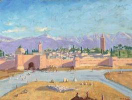 Уинстон Черчилль. «Мечеть Кутубия»