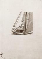 Каспар Давид Фридрих. Вид на нос парусника