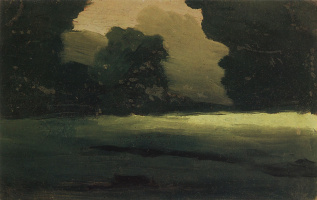 Архип Иванович Куинджи. Поляна в лесу. Туман