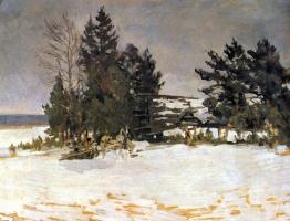 Константин Алексеевич Коровин. Зима
