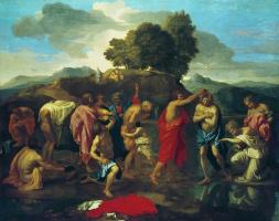 Никола Пуссен. Крещение Иисуса