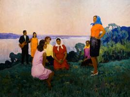 "Alexander G. Maksimenko. ""The festivity of youth"""