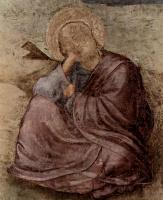 Джотто ди Бондоне. Св. Иоанн Евангелист на острове Патмос, деталь
