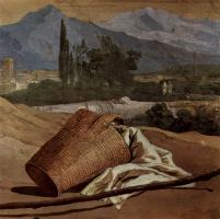 Джованни Доменико Тьеполо. Фрески из виллы Вальмарана в Виченце. Объяснение в любви. Фрагмент