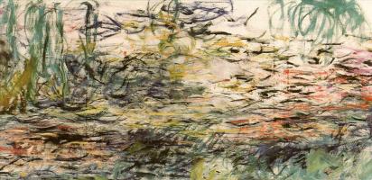 Клод Моне. Водяные лилии (полный холст)