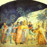Альбрехт Альтдорфер. Христос в саду