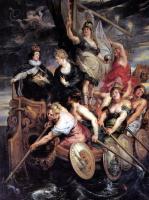 Питер Пауль Рубенс. Возмужание Людовика XIII