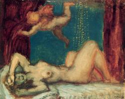 Franz von Pieces. Danae
