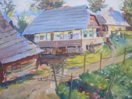 Yosif Josifovich Garani. The edge of the village
