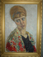 Unknown artist. PORTRAIT OF A COSSACK