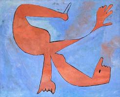 Пабло Пикассо. Ныряльщик