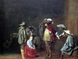 Jacob Van Velsen. The fortune teller