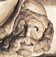 Микеланджело Буонарроти. Гробница Джулиано Медичи. Ночь. Голова.