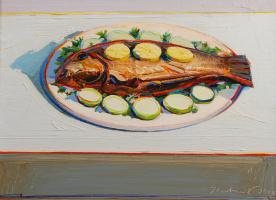 Уэйн Тибо. Рыба