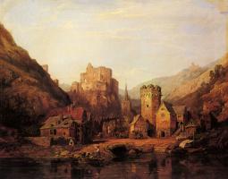 Джордж Кларксон Станфилд. Вид на полелок и руины