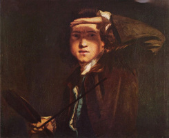 Joshua Reynolds. Self-portrait