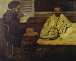 Поль Сезанн. Чтение Эмиля Золя