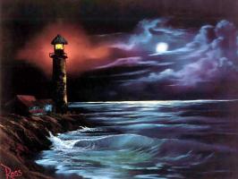 Боб Росс. Ночное сияние