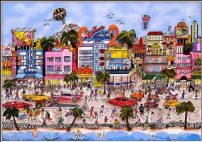 Чарльз Фаззино. Южный пляж