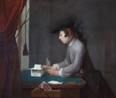 Жан Батист Симеон Шарден. Карточный домик