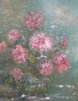 Рита Аркадьевна Бекман. Нежданный снег ложится пеленой на хризантемы