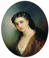 Генрих Ипполитович Семирадский. Женский портрет