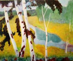 Margarita Petrovna Majnik. Birch Grove