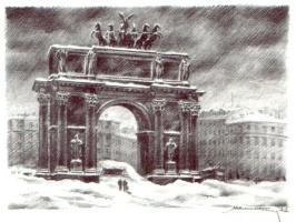 Модест Анатольевич Шепилевский. Нарвские ворота