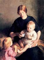 Мария Данфорт Страница. Мать с детьми