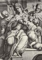 Орацио Саммакини. Святое семейство с Иоанном Крестителем и ангелом