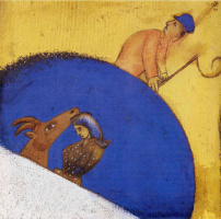 Марк Захарович Шагал. Конюх с кнутом