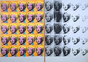 Andy Warhol. Diptych Marilyn