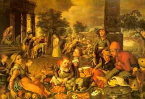 Питер Артсен. Фрукты и овощи
