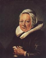 Геррит Доу. Портрет пожилой женщины