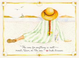 Сьюзан Бренч. Девочка на пляже