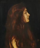 Franz von Pieces. Cinderella. 1899