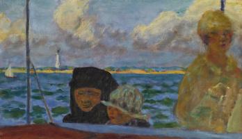 Пьер Боннар. Прогулка на море