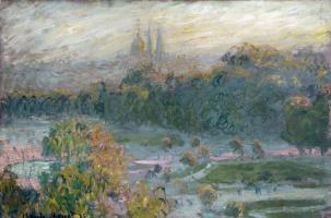 Claude Monet. The Tuileries (study)