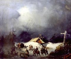 Алексей Петрович Боголюбов. Отправление декабристов в ссылку в Финляндию