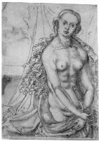Lucas Cranach the Elder. Lucrezia turned to the right