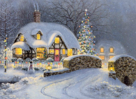 Richard Burns. Christmas in the cottage