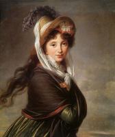 Элизабет Виже-Лебрен. Портрет молодой женщины