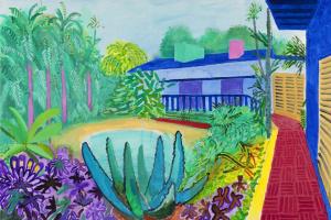 David Hockney. Garden