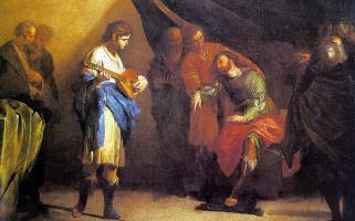 Бернардо Кавалино. Христос