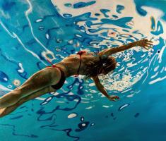Эрик  Зенер. Синяя вода
