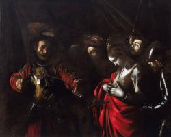 Микеланджело Меризи де Караваджо. Мученичество святой Урсулы