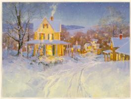 Стив Сонгер. Белый снег