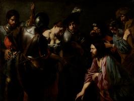 Валантен де Булонь. Христос и блудница