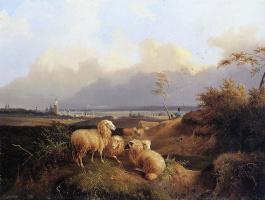 Августа Книп. Вид на Арнем